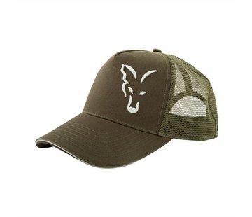 FOX Green / Silver Trucker Cap | Pet