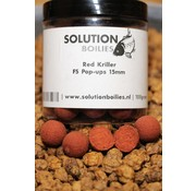 Solution Boilies Red Kriller FS pop-ups | Keuze uit: 12MM & 15MM