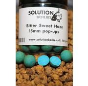 Solution Boilies Bitter Sweet Haze | Fluo | 15mm | pop-ups