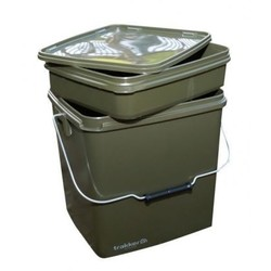 13L Square container met inzet | emmer