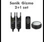 Gizmo 2+1 Alarm + Bivvy lamp   Beetmelder set (R & G)