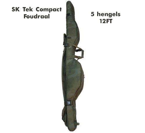 Sonik SK-TEK 5 Rod compact sleeve | 12FT | Foudraal