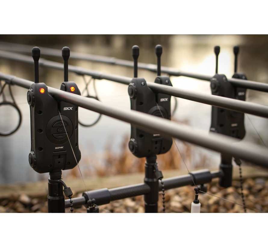 SKX 3+1 Alarm + Bivvy lamp | Beetmelder set