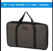 Prologic K1 Low Profile | rodpod | 3 rods | system