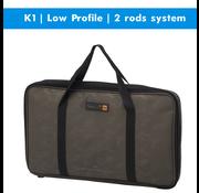 Prologic K1 Low Profile | rodpod | 2 rods | system