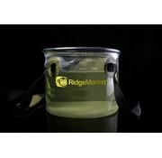 RidgeMonkey 10 Litre Perspective Collapsible Bucket | Doorzichtige emmer