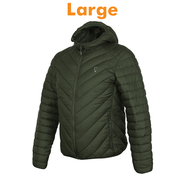 FOX Collection Quilted Jacket Green | Jas