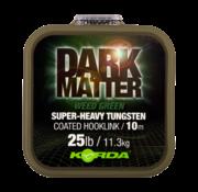 Dark Matter Tungsten Coated Braid 10m (Green)   Onderlijnmateriaal