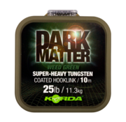 Korda Dark Matter Tungsten Coated Braid 10m (Green) | Onderlijnmateriaal
