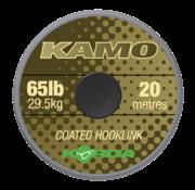 Korda Kamo Coated Hooklink (20 meter) | Onderlijnmateriaal