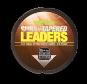 Korda Subline Tapered Leader (Brown)