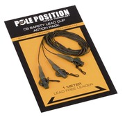 Pole Position CS Safety lead clip action pack met leader (3 stuks)