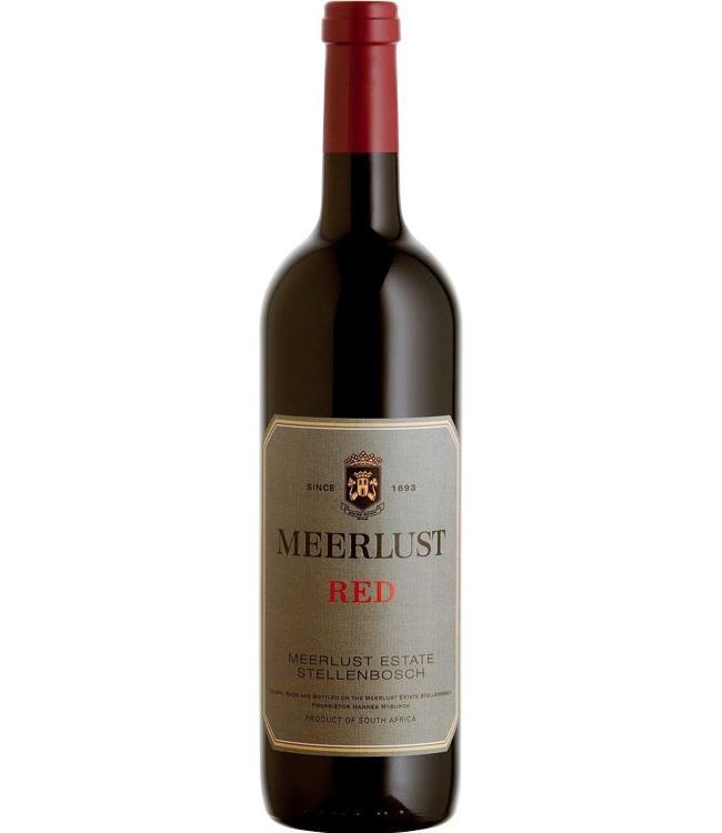 Meerlust Meerlust Estate Red 2014 Stellenbosch