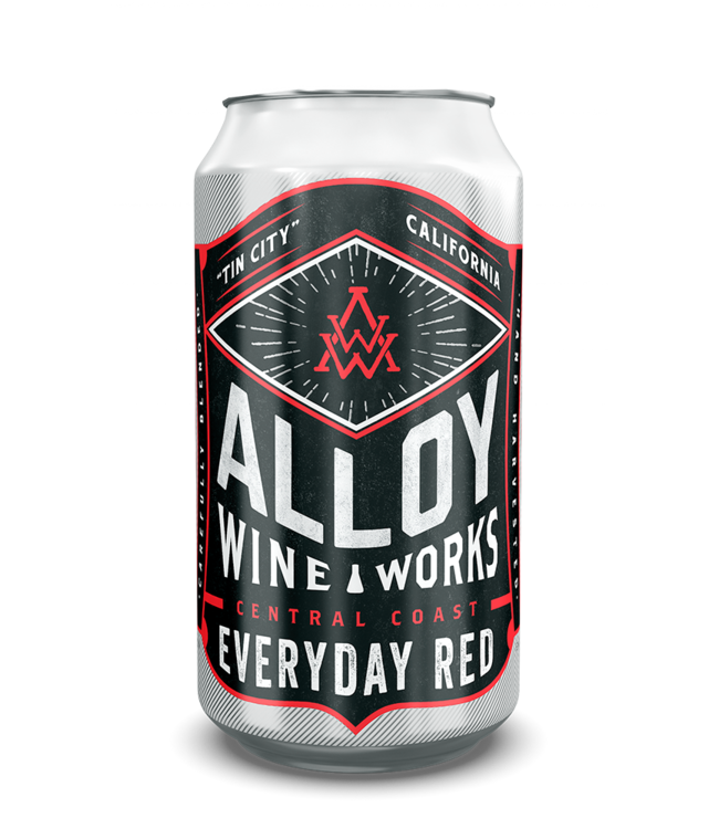 Alloy Wine Works Alloy Wine Works Everyday Red NV Central Coast - 375ml CAN