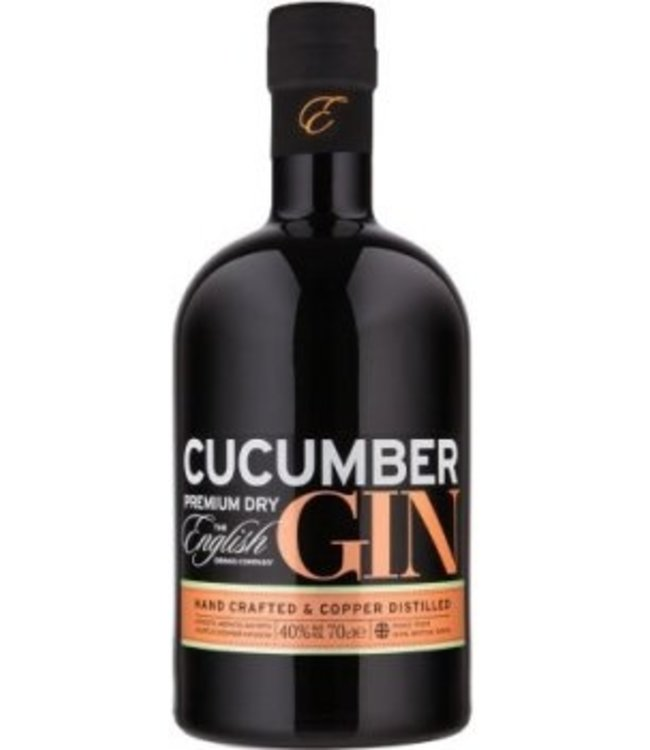 The English Drinks Company The English Drinks Company Cucumber Gin 70CL