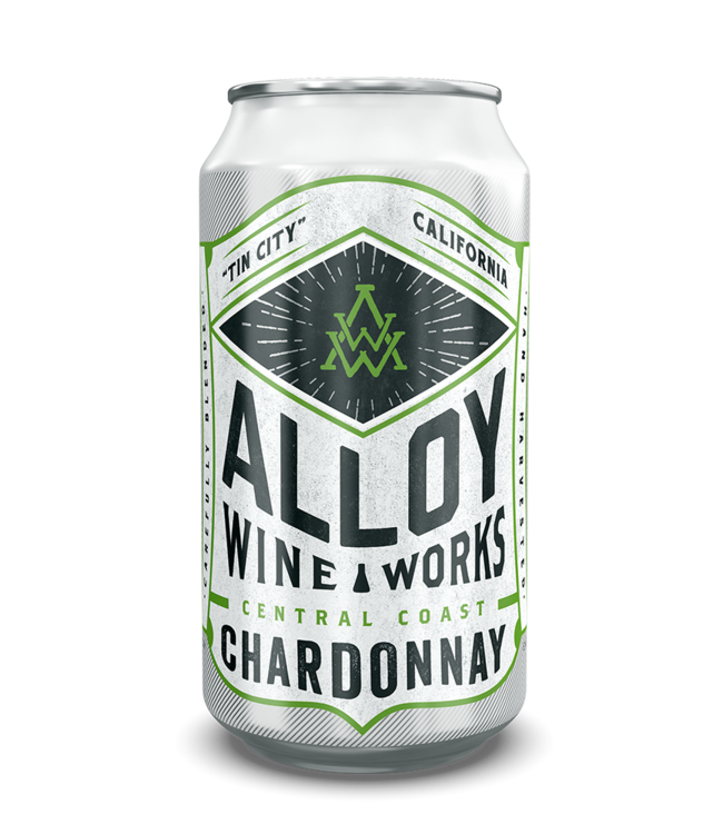 Alloy Wine Works Alloy Wine Works Everyday Chardonnay NV Central Coast - 375ml CAN
