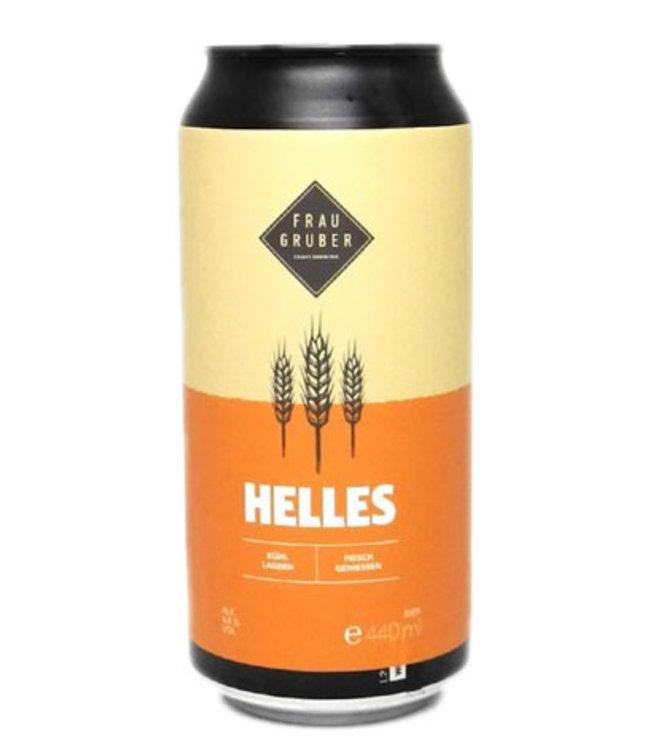 Frau Gruber Frau Gruber, Helles 4.8% 44cl CAN