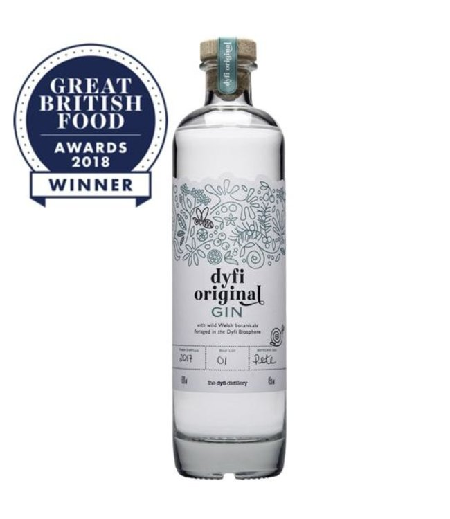 Dyfi Distillery Dyfi Original Gin (50cl, 45%Vol)