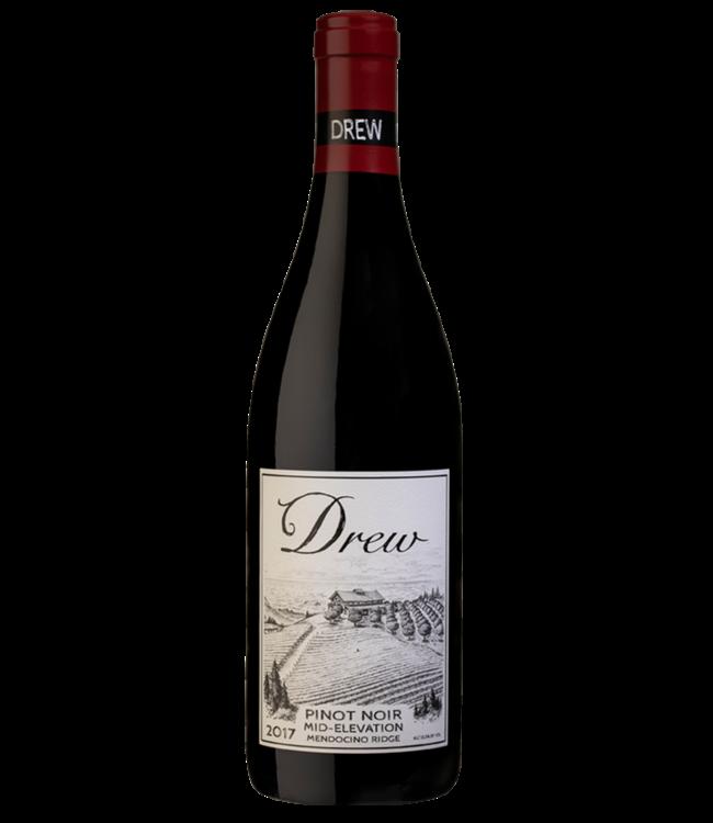 Drew Family Wines Drew Family Wines, Mid Elevations Pinot Noir 2017 Mendocino Ridge