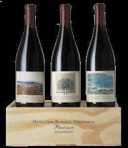 Hamilton Russell Hamilton Russell Pinot Noir Vertical pack 2015 - 2016 - 2017 Hemel-en-Aarde