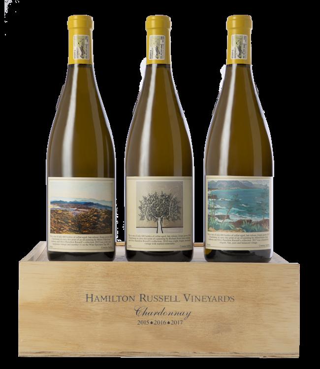 Hamilton Russell Hamilton Russell Chardonnay Vertical pack 2015 - 2016 - 2017 Hemel-en-Aarde