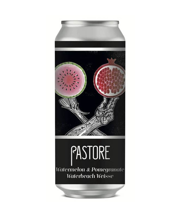 Pastore Pastore, Watermelon and Pomegranate Weisse 44cl CAN