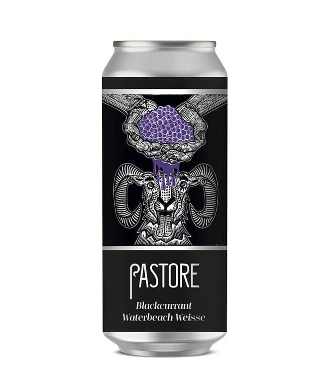 Pastore Pastore, Blackcurrant Weisse 44cl CAN