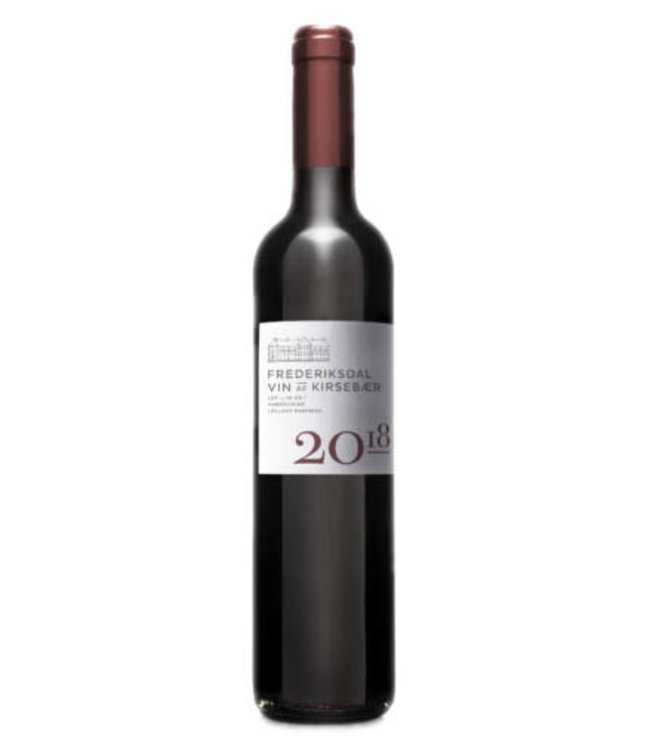 Frederiksdal Frederiksdal Vintage 2018 Vin Af Kirsebaer - Cherry Wine 50cl