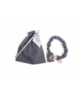 KOKOLALA | Tutkoord donkerblauw met witte strepen