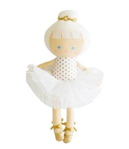 ALIMROSE | Baby ballerina pop gouden stipjes