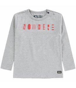 TUMBLE'N DRY | Krisse t-shirt met tekst grijs
