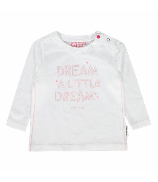 TUMBLE'N DRY   Zyra t- shirt off-white