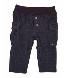 GYMP   Comfy zwart broekje met zijzakjes