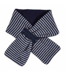 GYMP | Sjaaltje streepjes blauw & grijs