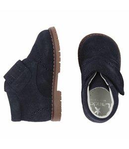LANDOS | Schoentje met klittenband donkerblauw