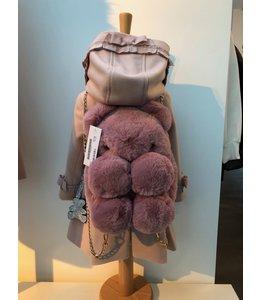 LAPIN HOUSE | Rugzakje in pels (nep) roze