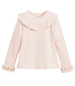 PATACHOU | Longsleeve met ruffles roze