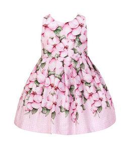 BALLOON CHIC | Bloemenjurk met een prachtige rug - Roze