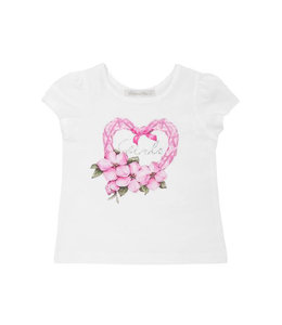 BALLOON CHIC | T-shirtje GIRL - Wit