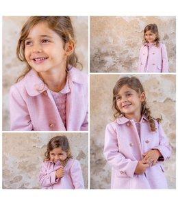 LIL & LOU | Jasje met strikje achteraan - Roze