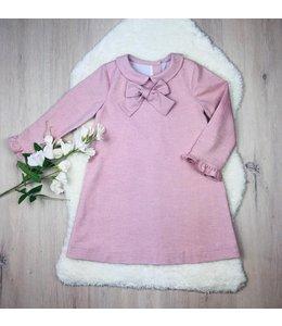 LIL & LOU | Jurkje met strikje & kraagje - Roze