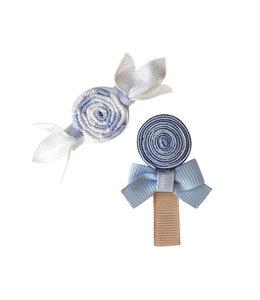 MILLEDEUX | Haarspeld Candy 2 stuks - Bluebell