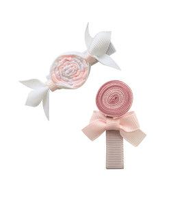 MILLEDEUX | Haarspeld Candy 2 stuks - Powder Pink