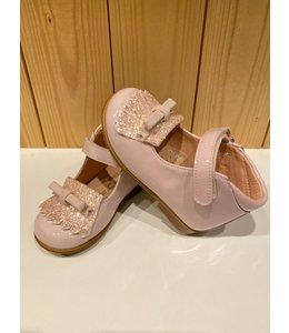 CLARYS | Schoentjes met franjes & strikje - Roze