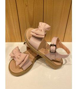 CLARYS | Sandaaltjes met dubbele strik - Roze
