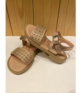 CLARYS | Sandaaltjes met studs - Roségoud