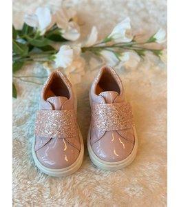 CLARYS | Sneaker met glitter - Roze