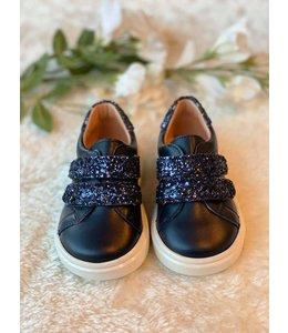 CLARYS | Sneaker met glitter - Marineblauw