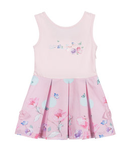LAPIN HOUSE   Comfy jurkje met bloemen - Roze