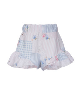 LAPIN HOUSE   Comfy shortje - Blauw & Roze